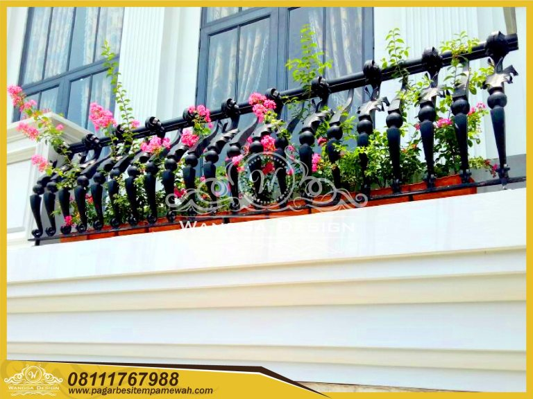Harga Railing Balkon Besi Tempa