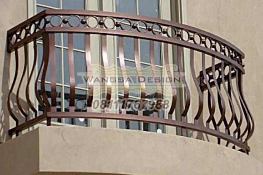 Railing Balkon Minimalis