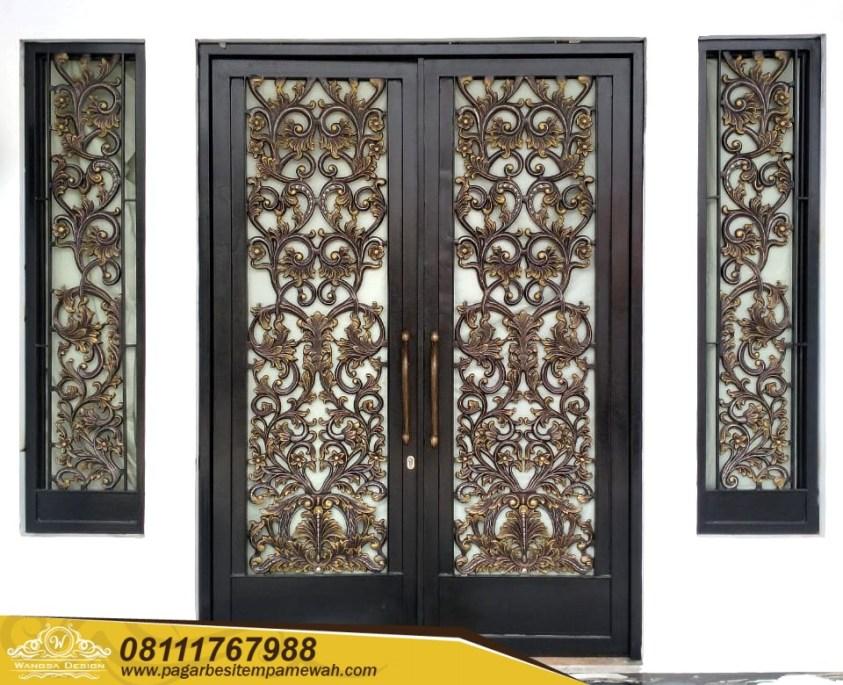 Pintu Head Besi Tempa Klasik (1)