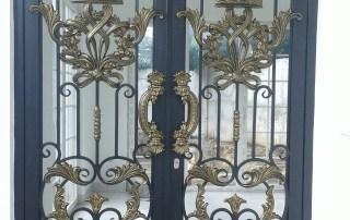 Pintu Besi Tempa Klasik (7)