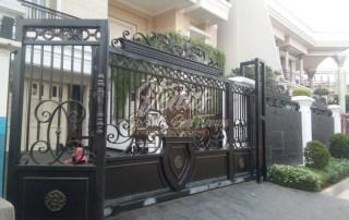 Pintu Pagar Railing Besi TEMPA (1)