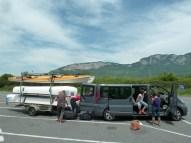 devant les Alpes