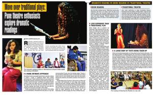 Cover Page of Pune Times on 1st September 2015