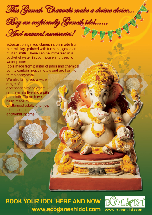Ecofriendly Ganesh Idol