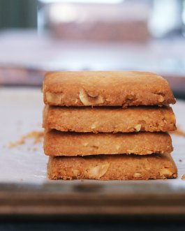 Hazelnut Shortbread Cookie