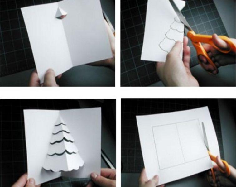4 д открытка как сделать