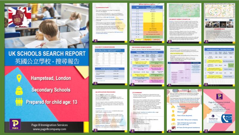 UK Schools Search Report