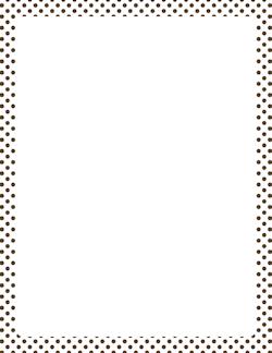 Polka Dot Border Template Wwwpixsharkcom Images