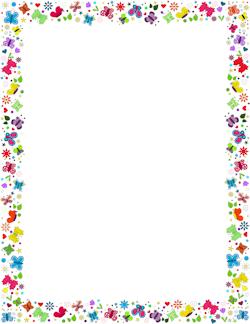 spring page border ferdin