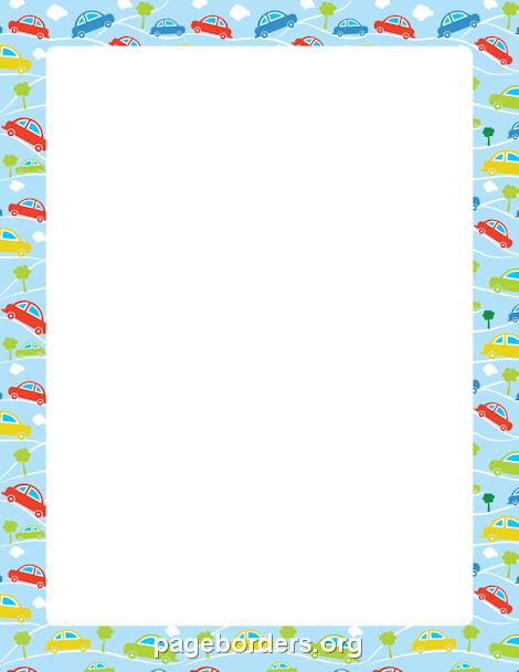 Fall Schoolhouse Wallpaper Car Border Clip Art Page Border And Vector Graphics