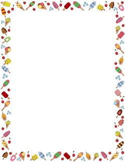 Free Food Borders Clip Art Page Borders and Vector Graphics