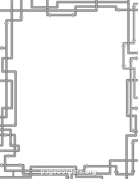 Pipe Border Clip Art Page Border And Vector Graphics