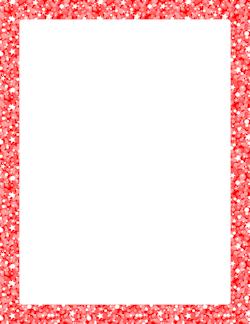 free glitter borders clip art