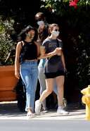 Camila Mendes Spotted With A Juice In Los Angeles