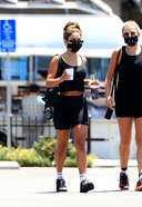 Vanessa Hudgens Spotted Leaving The Gym With A Friend In West Hollywood