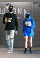 ashley benson and g eazy spotted at erewhon market in los angeles 13. o 128w 186h