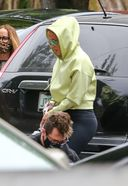 Jennifer Lopez Tries To Stay Incognito As She Arrives At The Studio In Miami