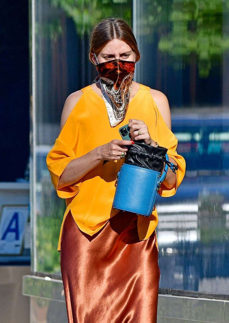 Olivia Palermo Spotted Roaming In New York City