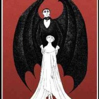 Dracula, a toy theatre  -  Edward Gorey