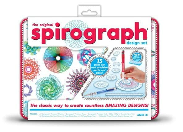 Tools To Banish Creative Burnout | pageflutter.com | Surprising ways to overcome writer's block and creative burnout. Spirograph.