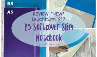 REVIEW: Leuchtturm1917 B5 Slim + National Notebook Day!