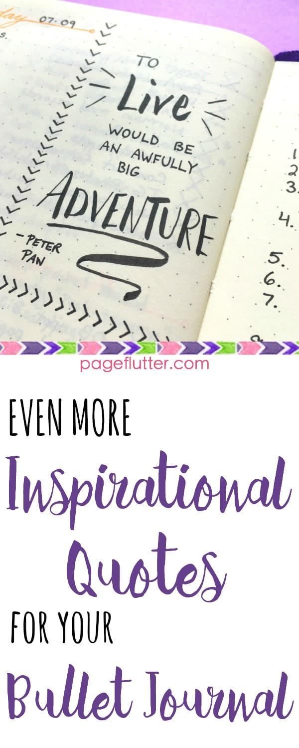 Aesthetic Bullet Journal Quotes : aesthetic, bullet, journal, quotes, Inspirational, Quotes, Bullet, Journal, Flutter