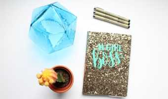 How to Customize Your Journal Cover With Vinyl (& Rock Your #GirlBoss)