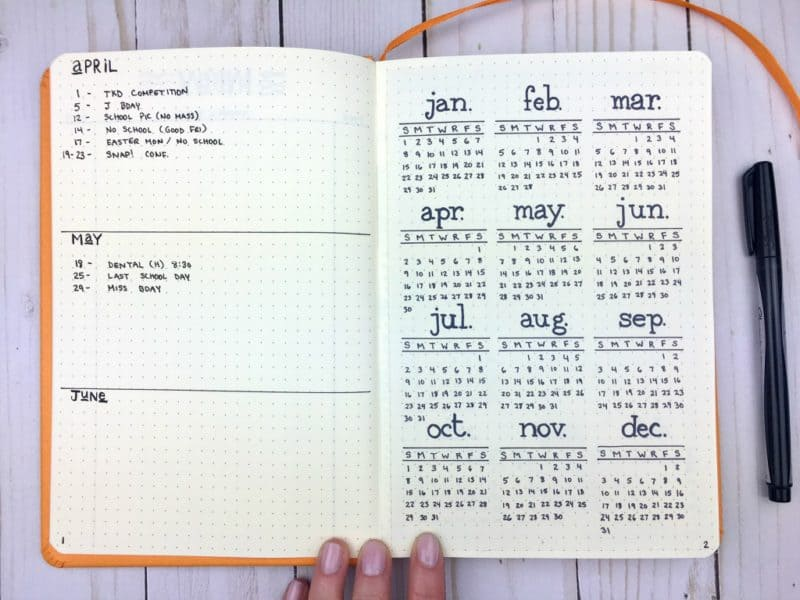 bullet journal dotted  Rhodia Webnotebook for Bullet Journaling: The Definitive Review ...