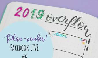 Planvember Day 6 | SUPER Long-Term 2019 Overflow Page