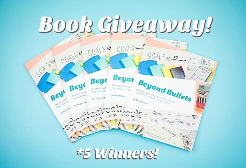 Beyond Bullets Book Giveaway! Creative journaling and planning is artistic and productive