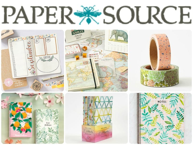 Best stationery shops for journaling supplies, washi tape, planner supplies, pens, and highlighters.