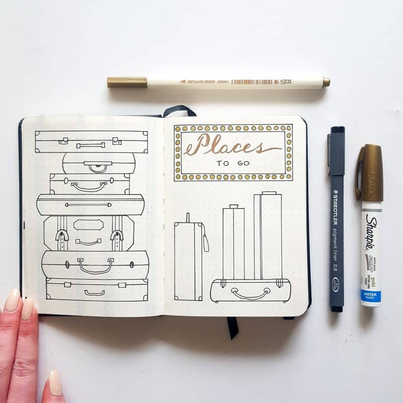 30+ Super Trackers For Your Planner:Daily, Monthly, Yearly| Travel tracker | Jihi Elephant for pageflutter.com