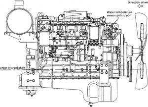 Komatsu 108 Series Diesel Engines Factory Service & Shop