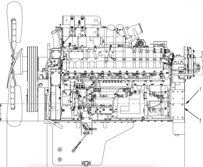 Komatsu 140 Series Engines Factory Service & Shop Manual