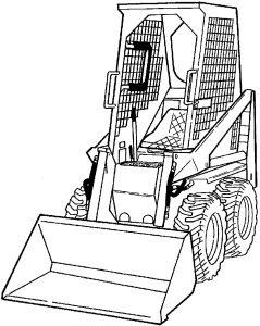 Bobcat 310, 313 Loader Factory Service & Shop Manual
