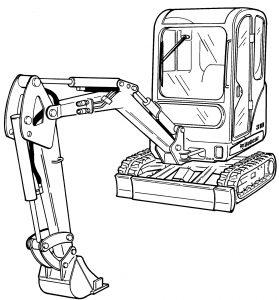 Bobcat 319 Compact Excavator Factory Service & Shop Manual