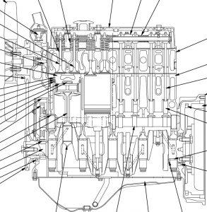 Komatsu 67(E)-68E-70E-72-74E-75-76(E)-78(E)-82E-84E-88E