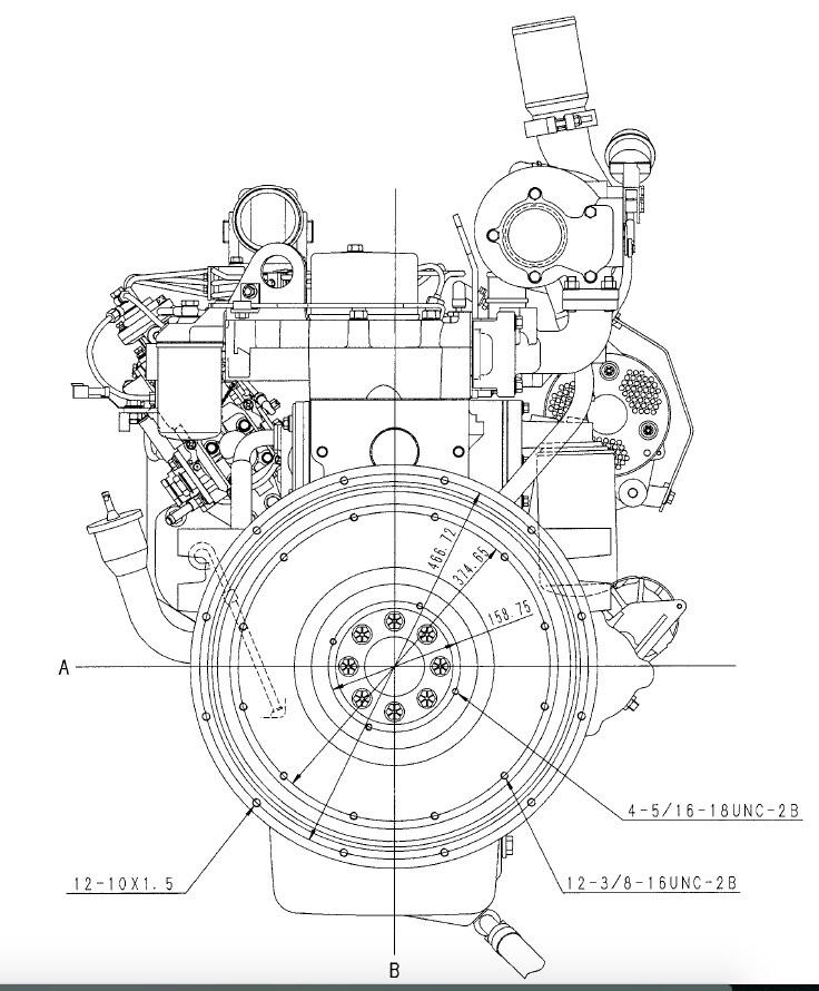 Komatsu 102 Series Diesel Engines Factory Service & Shop