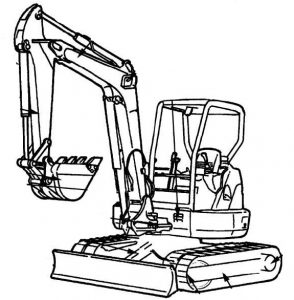 Hitachi EX27u, EX35u, EX50u Excavator Factory Service