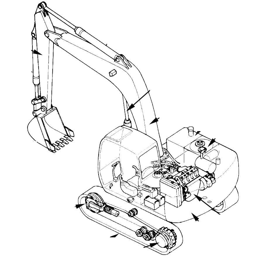 Hitachi Excavator EX80-5 Factory Service & Shop Manual