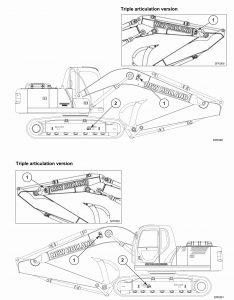 New Holland Kobelco E175B, E195B Crawler Excavator Factory