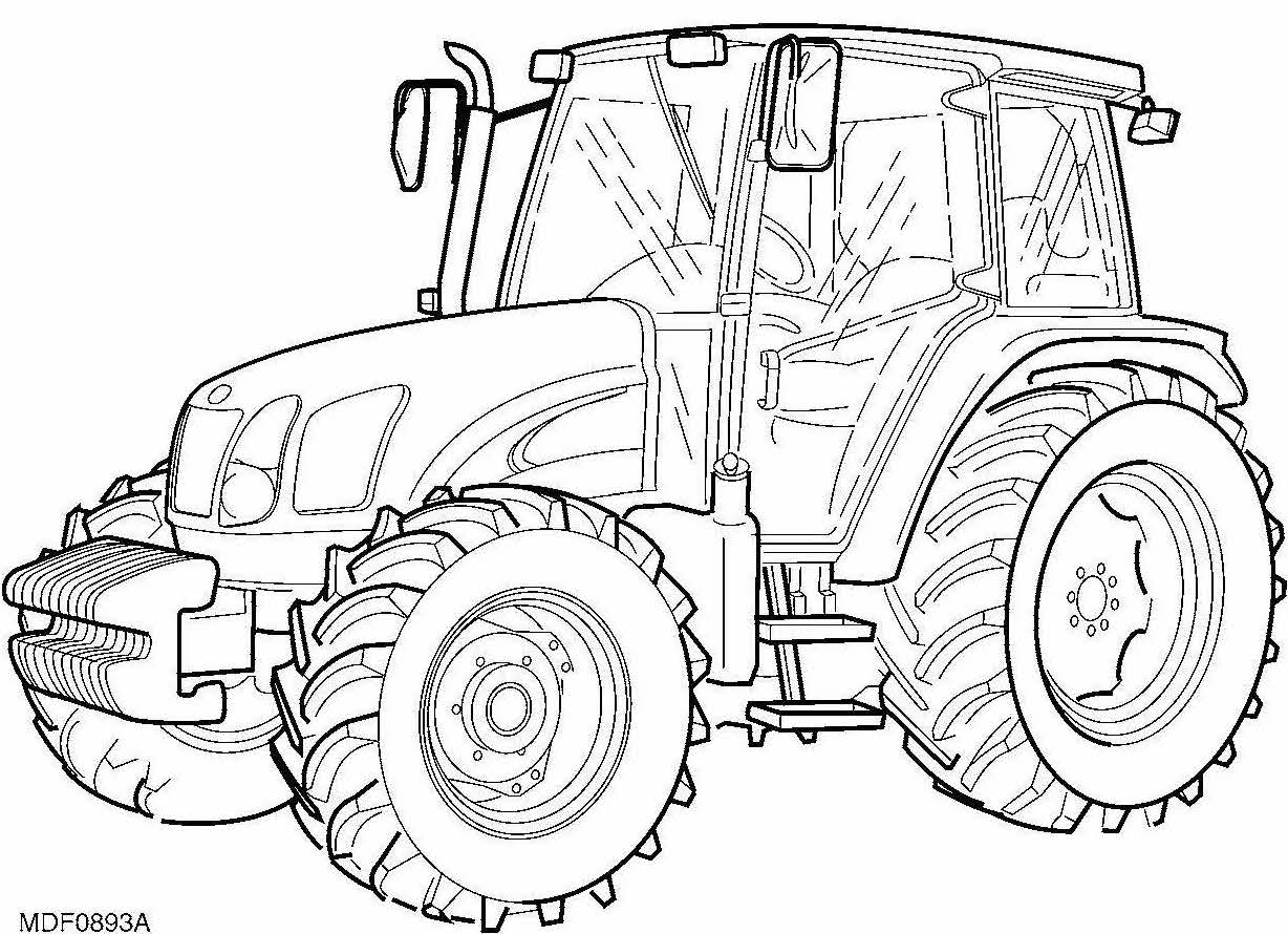 New Holland T5030, T5040, T5050, T5060 Tractors Factory