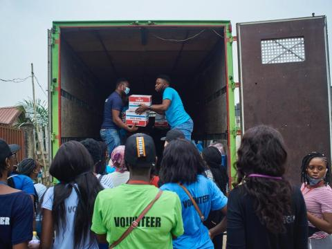 Lagos food bank
