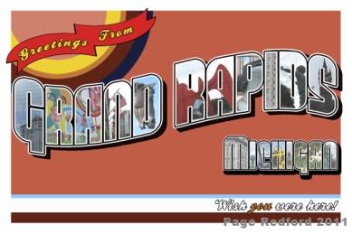 Grand Rapids Postcard 3