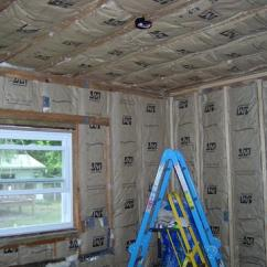 Home Depot Financing Kitchen Remodel Cabinets Accessories Manufacturer Saturday - Installed Insulation In Exterior Walls And Ceiling.