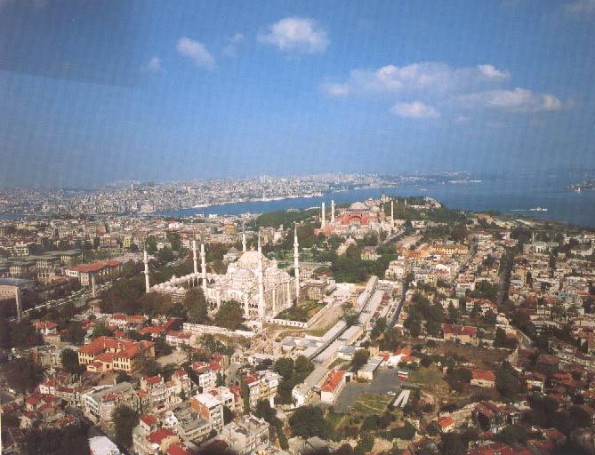 Istanbul - Aerial shot