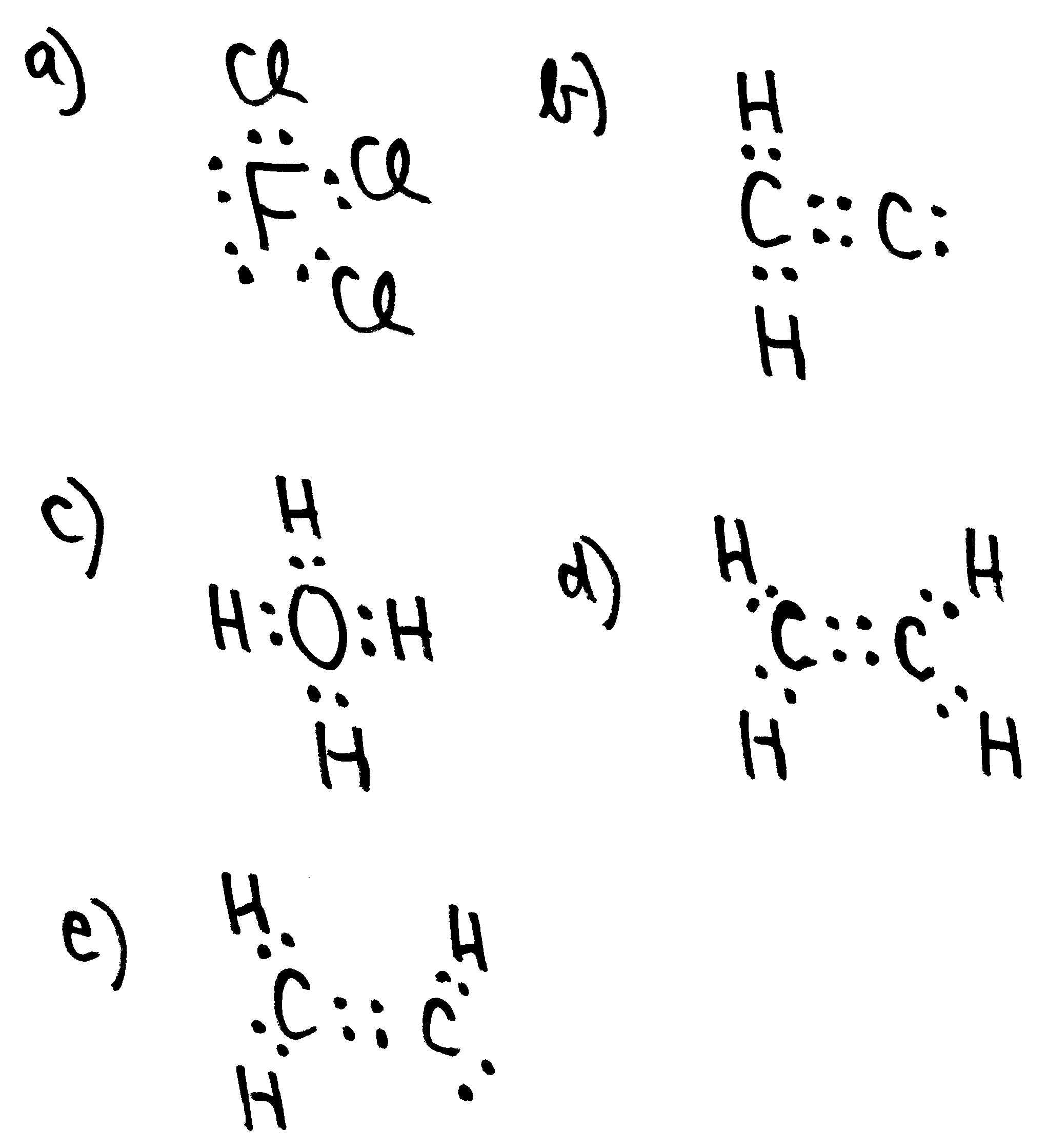 General chemistry 2 exams