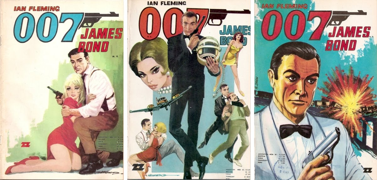 zig-zag-1970 james bond comics