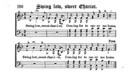 "From Negro Spiritual To Folk Revival ""Swing Low Sweet"