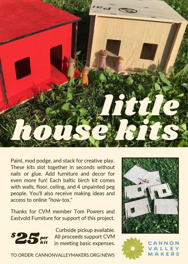 Little House Kits flyer